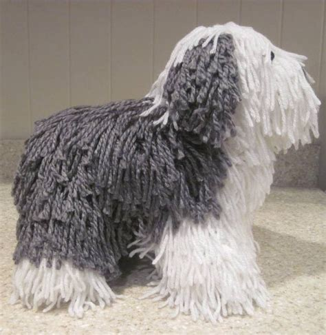 english patterns pdf crocheted old english sheepdog pdf pattern digital