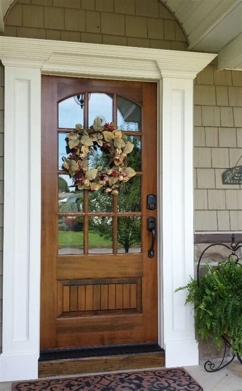 How To Stain Front Door 25 Best Ideas About Entry Doors On Stained Front Door Exterior Doors And Front