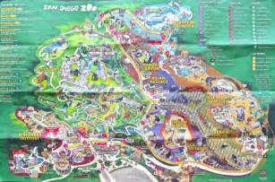 San Diego Zoo Map by San Diego Zoo Map 2011 Images