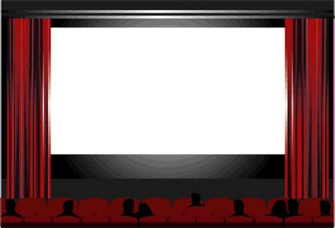 Movie screen clipart