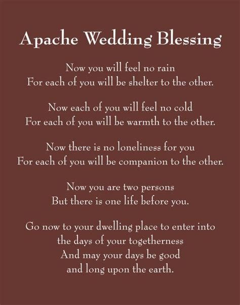 Apache Wedding Blessing Version by Pin By Quantum Grace On American Wisdom