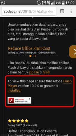 flash templates for android how to view flash website in android