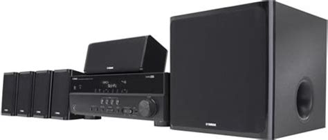 yamaha yht 497 5 1 channel home theater system