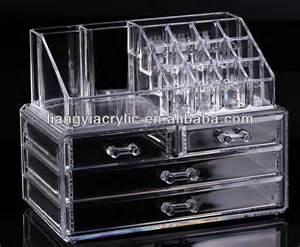 cosmetic organizer makeup drawers display box acrylic