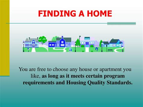 section 8 housing quality standards ppt housing choice voucher section 8 participant