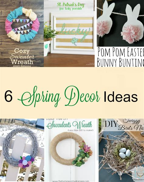 diy spring home decor 6 beautiful diy spring d 233 cor ideas momhomeguide com