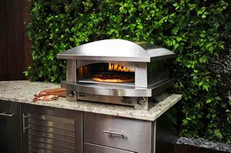 Outside Brick Wall Designs by Outdoor Pizza Oven Casual Cottage