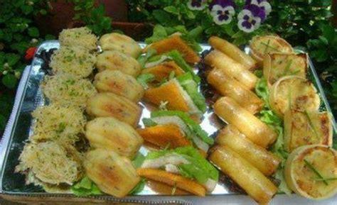 canap駸 entr馥s froides cuisine marocaine entrees froides 192 voir