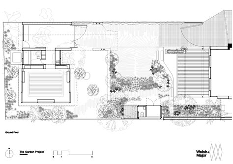 garden floor plan the garden room welsh major archdaily