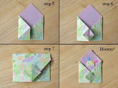 Origami Envelope Template - 50 best images about origami tutorials on
