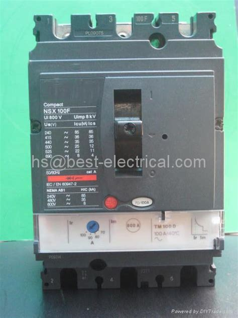 mccb schneider compact nsx 100f schneider ns nsx compact mccb moulded circuit breaker