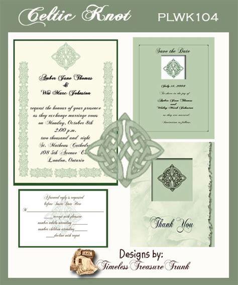 Celtic Wedding Invitation Templates by Celtic Wedding Ideas Wedding Invitations Wedding