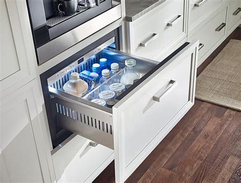 Counter Fridge Drawers by Undercounter Refrigerators The New Must In Modern