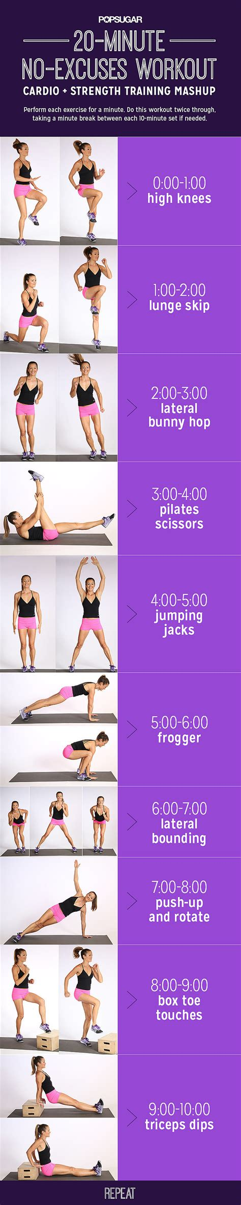 get fit done 20 fast ways to climb your way to the top of the corporate fitness ladder books printable no equipment cardio workout popsugar fitness