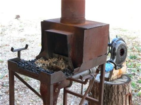 Building A Small Home Forge Blacksmithing Archives Sustainlife