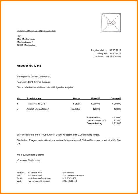 Musterbrief Nachfassen Angebot 11 Reinigung Angebotsschreiben Muster Sponsorshipletterr