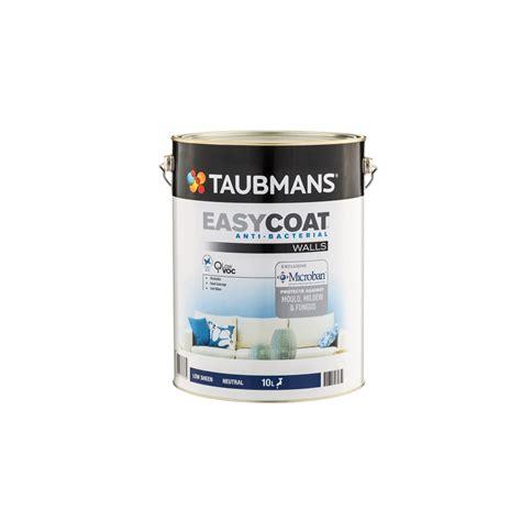 taubmans interior paint taubmans easycoat 10l walls low sheen neutral interior