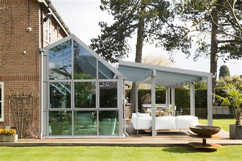 glass veranda uk glass verandas and canopies apropos conservatories