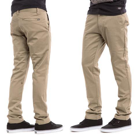 Celana Chino Panjang Khaki Chino celana panjang chino volcom braga tailor