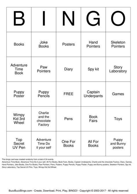 make bingo cards with pictures book fair bingo bingo cards to print and customize