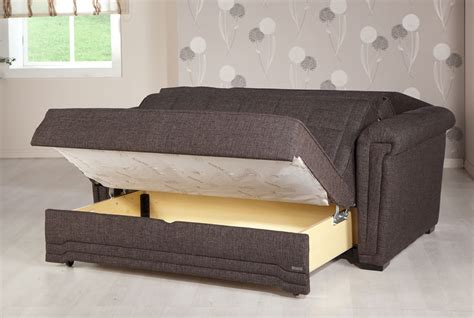 love seat bed victoria andre dark brown loveseat sleeper by sunset