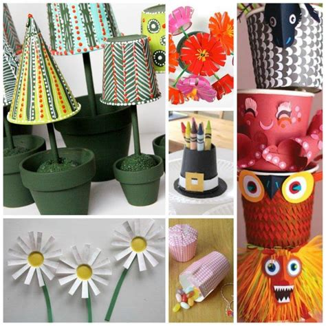 Crafts With Paper Cups - 25 fabulous paper cup crafts crafts and