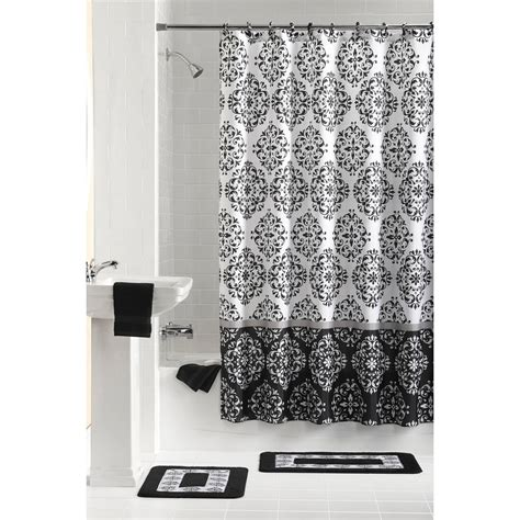 Black And White Shower Curtain Set by Black And White Shower Curtain Set Curtain Menzilperde Net