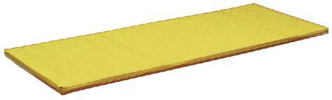 materasso palestra materasso palestra cm 200x100x6h giallo 943701