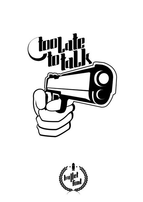 typography bullet hellofont vector fonts bullet