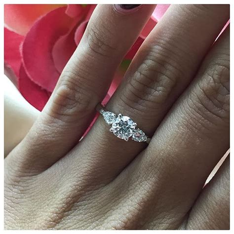 these 3 stone engagement rings have a very special meaning