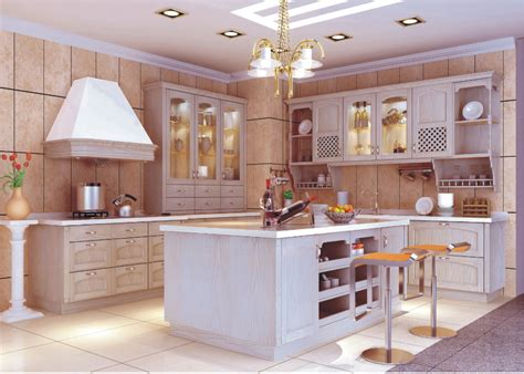 2017 prefab kitchen cupboard solid wood modular kitchen