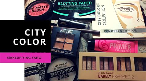 city color makeup rese 241 a maquillaje city color demo makeup review city