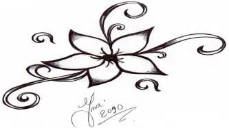 Designs Coloring Pages Easy To Draw Flower Tattoo Drawings  sketch template