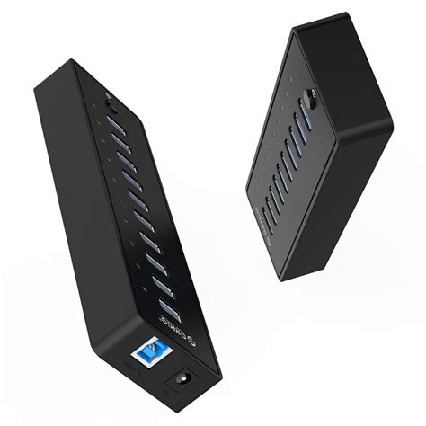 Tabung 10 X 30 No Garansi orico 10 port usb 3 0 hub with 1m usb 3 0 cable p10 u3 black jakartanotebook