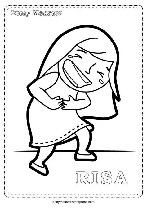 imagenes de risa de amor para dibujar para colorear betty monster