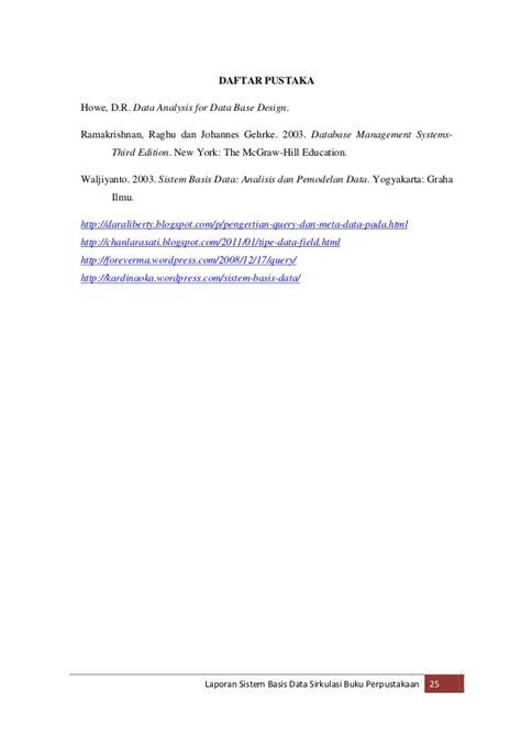 Sistem Tertanam Embedded System Graha Ilmu laporan sistem basis data sirkulasi peminjaman buku