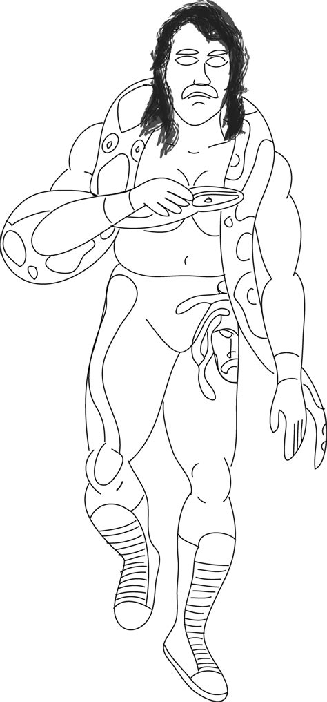 free coloring pages of wwe superstars
