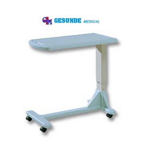Overbed Table Meja Mayo Plywood alat kesehatan grosir harga meja makan pasien overbed table