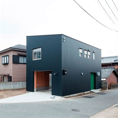 design milk architecture a narrow house filled with plywood by yyaa design milk