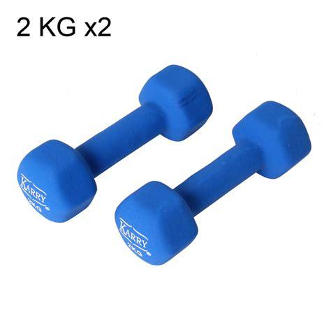 Barbell 2 Kg 2 pcs dumb bells set barbell fitness aerobic dumbbell blue 2 x 2 kg lh22 ebay