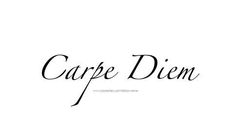 carpe diem design minimalist design quot carpe diem quot phrase designs page 3 of 5
