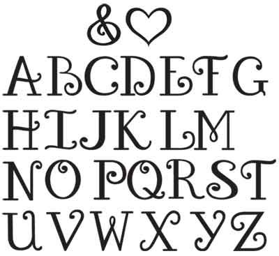 Letter No 9 Font Printable Alphabet Letters Use Some Of These Amazing Letter Pictures To Inspire You