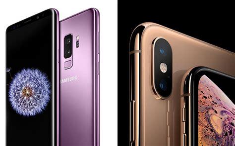 iphone xs vs galaxy s9 lequel est le meilleur