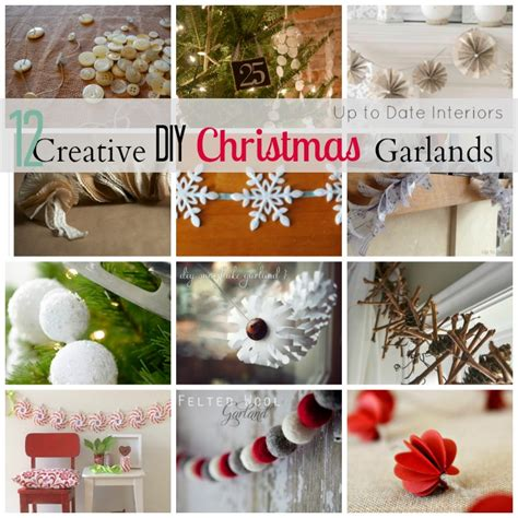 Diy Home Decorations Ideas diy creative christmas garland 12 awesome ideas for