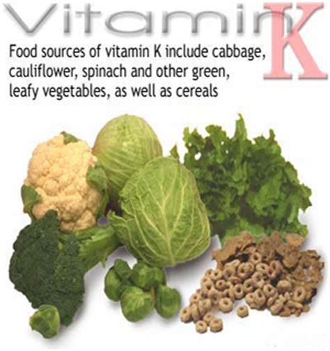 vitamin k vegetables to avoid april 2011 eat well live well