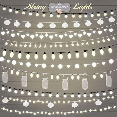 lights clipart free string lights clipart illustrations creative market