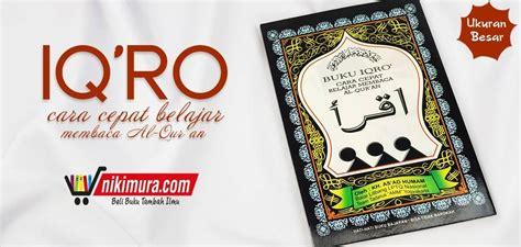 Iqro Cara Cepat Belajar Membaca Al Quran Gabung Besar Cd Amm2 toko buku islam murah