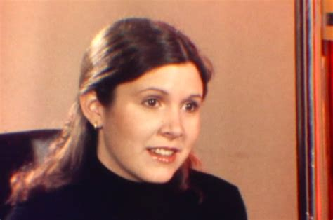 carrie fisher harrison ford and carrie fisher talk about wars in vintage