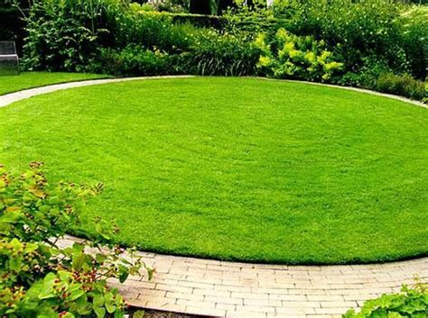 green lawns and bright yard landscaping ideas celebrating