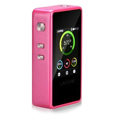 Smart Vape Authentic Laisimo L1 Box Mod Oled Display 200w authentic laisimo l1 200w tc pink vw variable wattage box mod